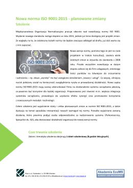 Dane techniczne Dobór dławnic do średnic kabli Normy i