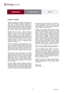 Komentar Privatbanky 201309-7 Z grafov sa najeme