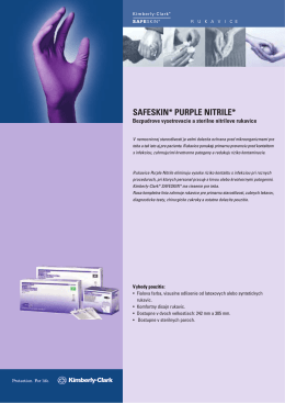 SAFESKIN* PURPLE NITRILE*