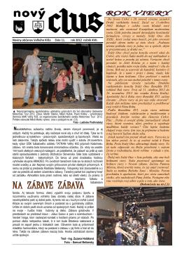 Obecné noviny č.11 - 2012