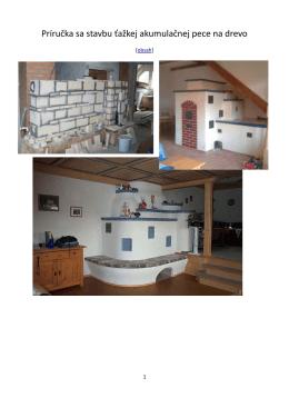 Príručka sa stavbu ťažkej akumulačnej pece na drevo