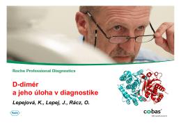D-dimér a jeho úloha v diagnostike