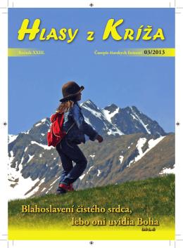 HzK 3/2013 - farnosť Sedembolestnej Panny Márie