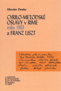 Cyrilo-metodské oslavy - Franz Liszt institut Miroslava Demka