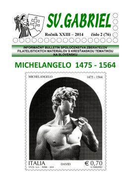 Bulletin Svätý Gabriel 2014/2