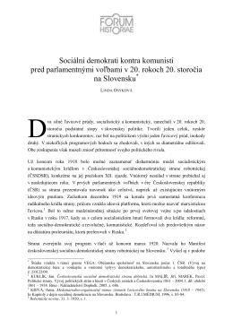 Lindy Osykovej - Forum Historiae
