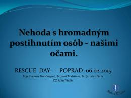 6_Tomčanyová - RESCUE DAY Poprad
