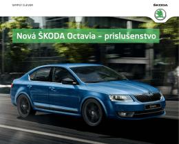 Nová ŠKODA Octavia – príslušenstvo