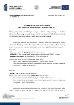Przedmiar robót - Zarząd Dróg Powiatowych w Bielsku