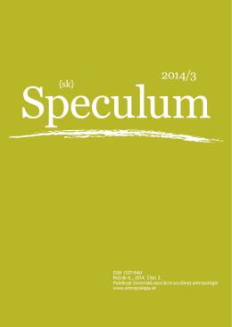 ISSN 1337-9461 Ročník 6., 2014, číslo 3. Publikuje