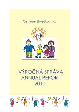 Výročná správa za rok 2010