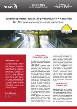 Zachodniopomorski Zarząd Dróg Wojewódzkich w Koszalinie