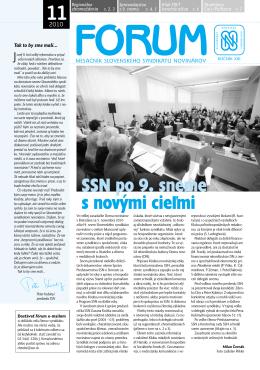 Forum 11.cdr - Slovenský syndikát novinárov