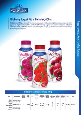 Ulubiony Jogurt Pitny Polmlek,400 g