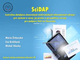 SciDAP - Inforum