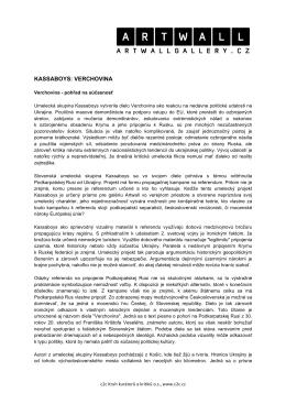 KASSABOYS: VERCHOVINA