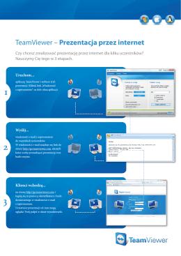 TeamViewer – Prezentacja przez internet