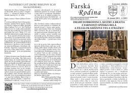 2015_4 Farska_rodina - Rímskokatolícka farnosť Spišská Belá