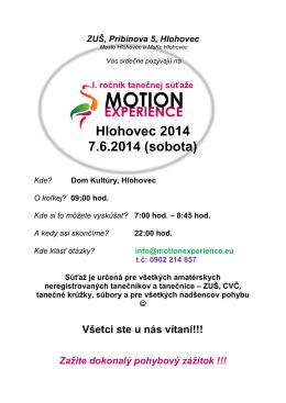 Hlohovec 2014 7.6.2014 (sobota)