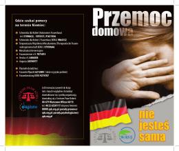 Gdzie szukać pomocy na terenie Niemiec: