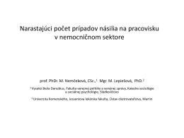 Snímek 1 - Odborový svaz zdravotnictví a sociální péče ČR