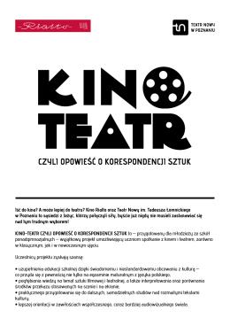 Iść do kina? A może lepiej do teatru? Kino Rialto oraz Teatr Nowy im