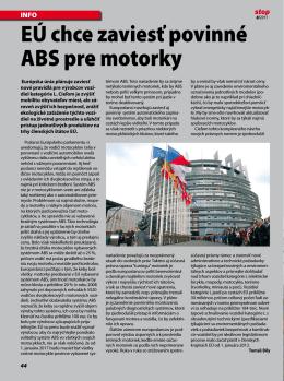 ABS pre motocykle
