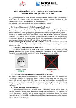 Pobierz PDF - Rigel Medical