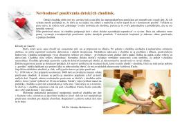 Detské chodítka - Trenčianske ECHO 25-2010