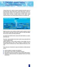 Základné zásady údržby bazénov. - bazeny