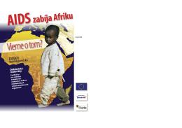 Toolkit (učebná pomôcka) s názvom AIDS zabíja Afriku