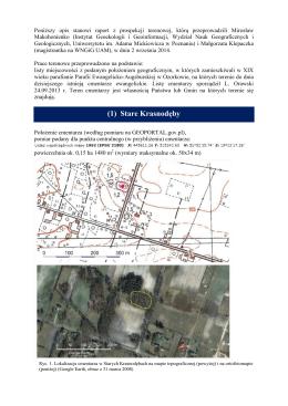 PROSPEKCJA TERENOWA_ 2 wrzesnia 2014_cmentarze