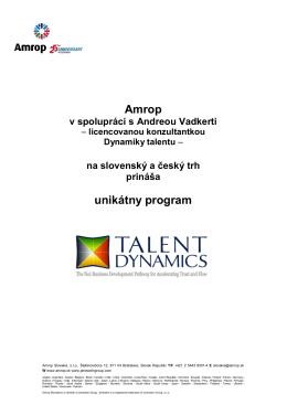 Dynamika talentu