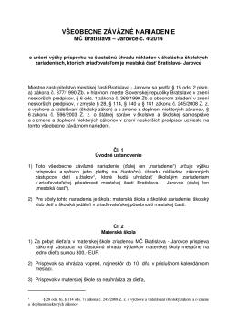 VZN č.4 z r. 2014