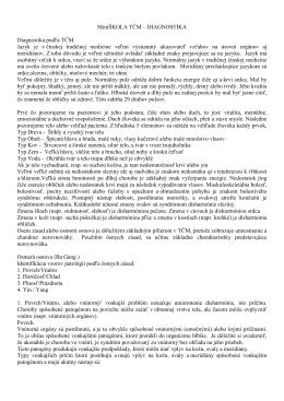 MiniŠKOLA TČM – DIAGNOSTIKA Diagnostika podľa TČM. Jazyk je