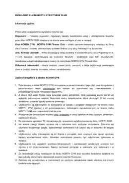 Regulamin w wersji PDF do wydruku