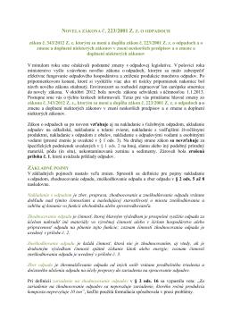 zákon č. 343/2012 Z. z. ktorým sa mení a dopĺňa - NATUR