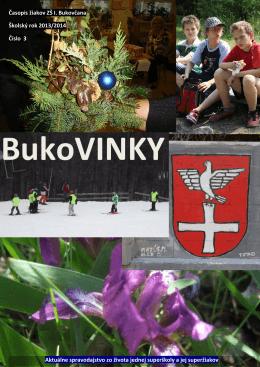 Časopis 3/2013 - Základná škola na Ulici Ivana Bukovčana 3