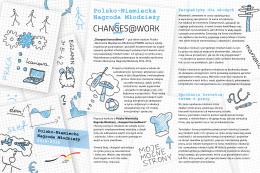 ulotka - Polsko-Niemiecka Współpraca Młodzieży