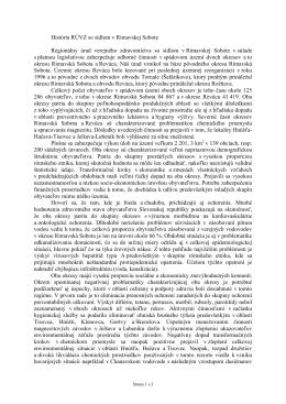 História RUVZ - RUVZ so sídlom v Rimavskej Sobote