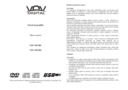 VOV-MC901 902 SK manual - dia