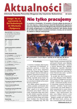 Nie tylko pracujemy - Kujawsko