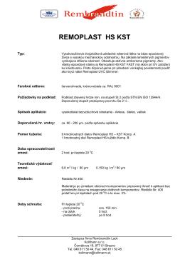 REMOPLAST HS KST - rembrandtinsk.sk