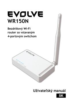 WR150N - evolveo
