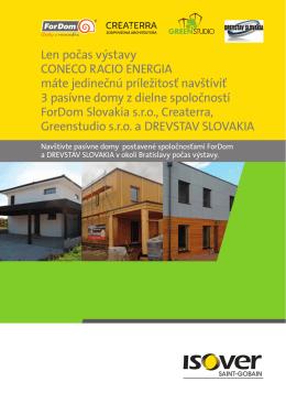 Len počas výstavy CONECO RACIO ENERGIA máte
