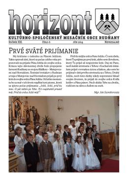 Horizont číslo 6/2014 (.pdf)