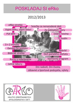 Poskladaj si eRko 2012/2013
