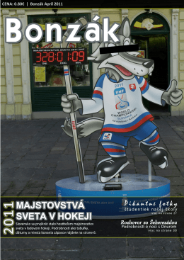 Apríl 2011 - Gymnázium, Ľ. Štúra 26, Michalovce