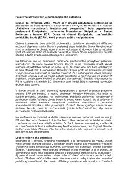 Tlačová správa vo verzii PDF