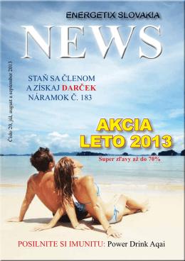 AKCiA LETO 2013 - Energetix Slovakia